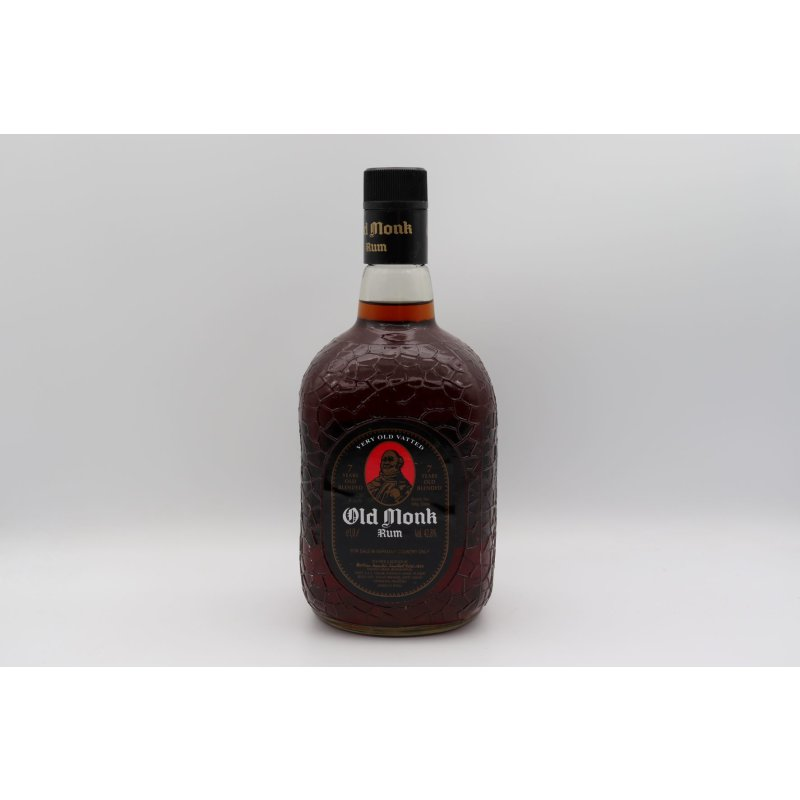 Old Monk 7 Jahre Indian Dark Rum 1,0 ltr.