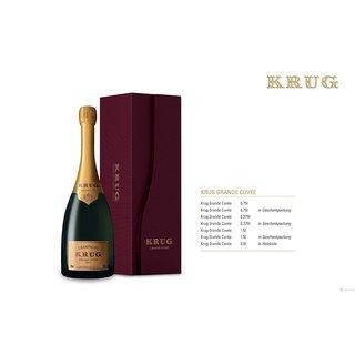 Krug Grande Cuvee Champagner 0,75 ltr.