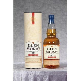 Glen Moray 10 Jahre Chardonnay Cask Matured 0,7 ltr.