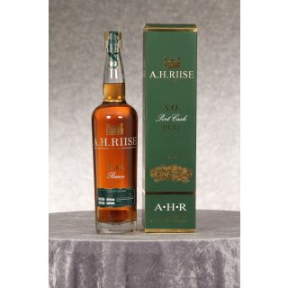 A. H. Riise X.O. Reserve Rum 0,7 ltr. Port Cask