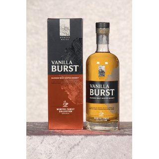 Vanilla Burst Blended Malt 0,7 ltr. Batch 2017/01, Wemyss...