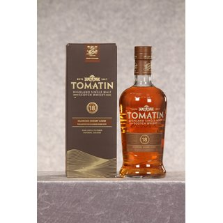 Tomatin 18 Jahre 0,7 ltr. Finished in Oloroso Sherry Casks