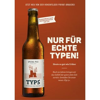 Typ 5 Hohenfelder Privat-Brauerei 0,33 ltr. inkl Pfand