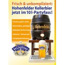 Kellerbier Hohenfelder Privat-Brauerei 10 Liter Party-Fass