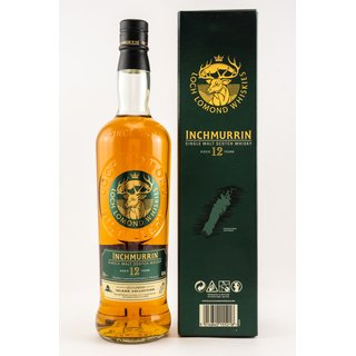Inchmurrin 12 Jahre 0,7 ltr. Loch Lomond Island Collection