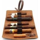 adorini Cigar Roll Echtleder braun