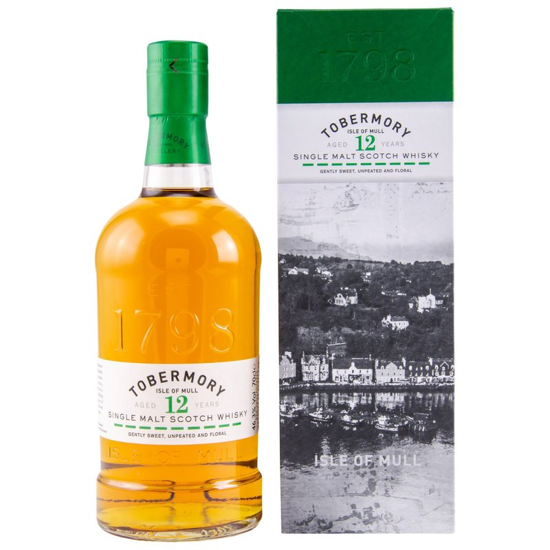 Tobermory 12 Jahre 0,7 ltr.