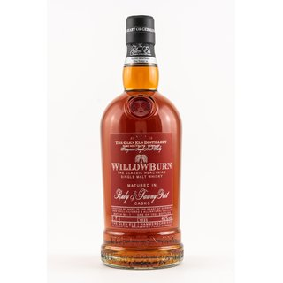 Willowburn Port Cask 2019  Batch 1 0,7 ltr.The Glen Els...