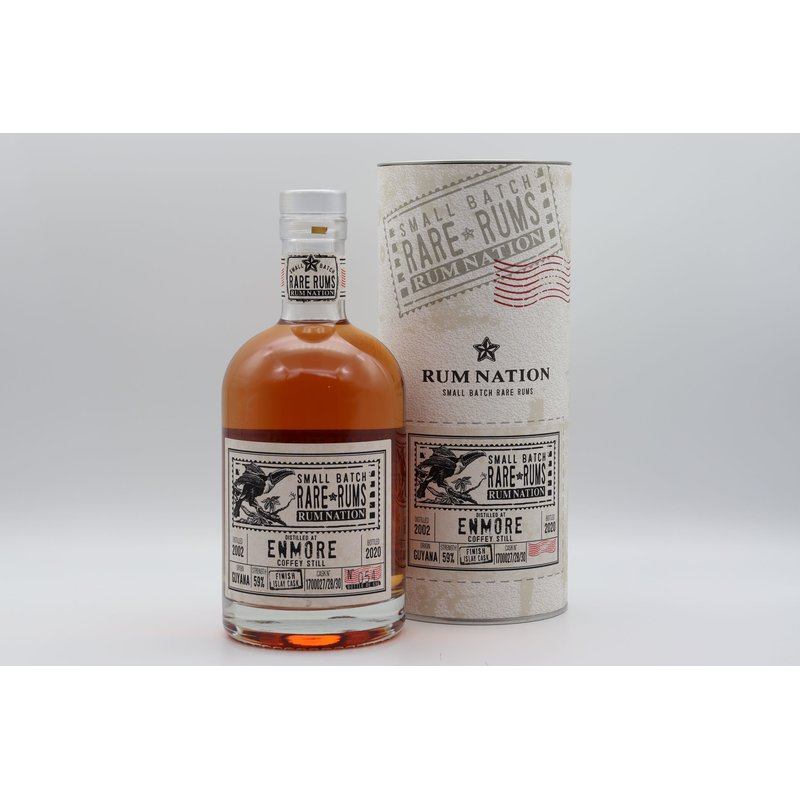 Rum Nation Enmore KVM Islay Cask 18 Jahre 0,7 ltr. Rare Rum 2020