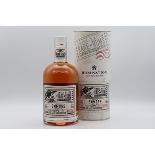 Rum Nation Enmore KVM Islay Cask 18 Jahre 0,7 ltr. Rare...