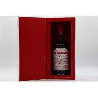 Benromach 21 Jahre 0,7 ltr. bottled 2020