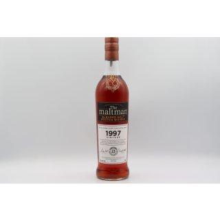 Vintage Blend 1997 23 Jahre 0,7 ltr. The Maltman
