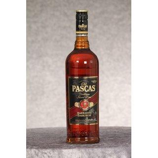 Old Pascas Barbados Dark Rum 1,0 ltr.