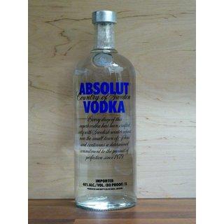 Absolut Vodka 1,0 ltr.