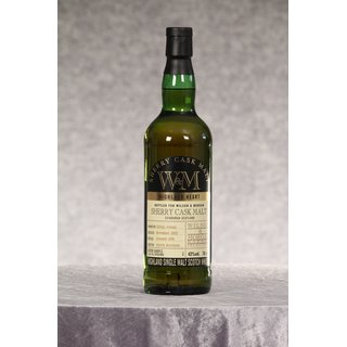 Highland Heart Sherry Cask Malt Barrel Selection Wilson &...