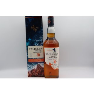Talisker 10 Jahre Classic Malts Selection 0,7 ltr.