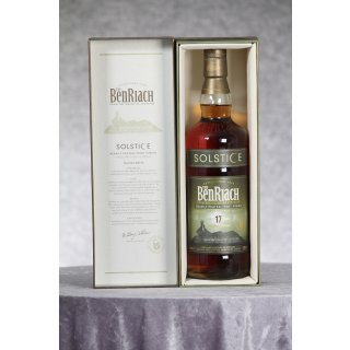 BenRiach 17 Jahre Solstice Heavily Peated 0,7 ltr.