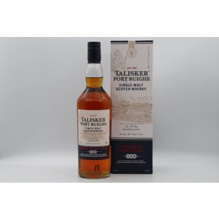 Talisker Port Ruighe Finished in Port Casks 0,7 ltr.