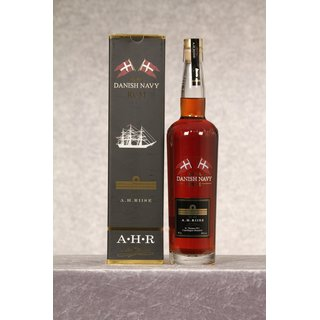 A.H. Riise Royal Danish Navy Rum 40% 0,7 ltr.