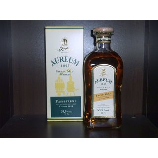 Ziegler Aureum 1865 Vintage 2008 Cask Strength Single...