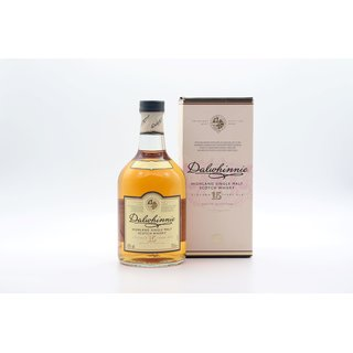 Dalwhinnie 15 Jahre Classic Malts Selection 0,7 ltr.