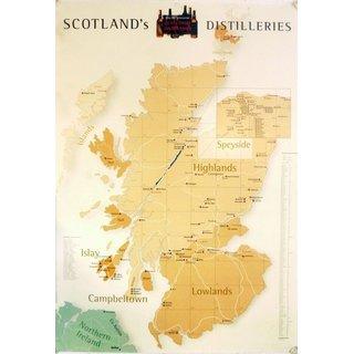 Poster DIN A1 - Scotlands Distilleries