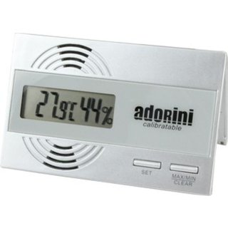 Adorini Hygrometer Thermometer digital kalibrierbar