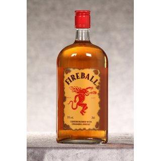 Fireball Liqueur blended with Cinnamon & Whisky 0,7 ltr.