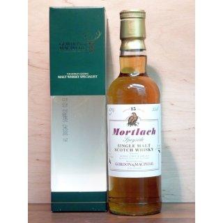 Mortlach 15 Jahre Distillery Label Gordon&MacPhail 0,35 ltr.