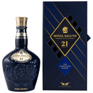 Chivas Regal 21 Jahre Royal Salute 0,7 ltr.