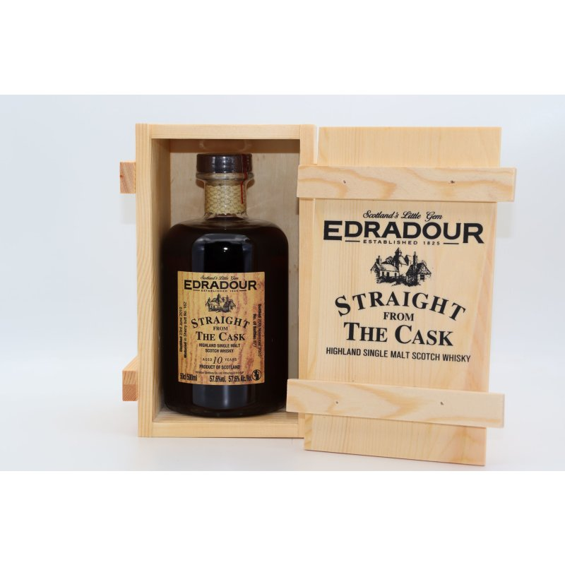 Edradour 2006 10 Jahre, Straight from the Cask Sherry Butt Cask No. 273 0,5 ltr.