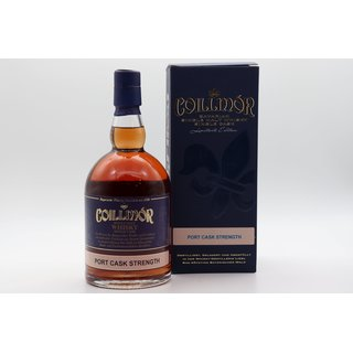 Coillmor Single Malt Port Cask Strength 0,7 ltr.