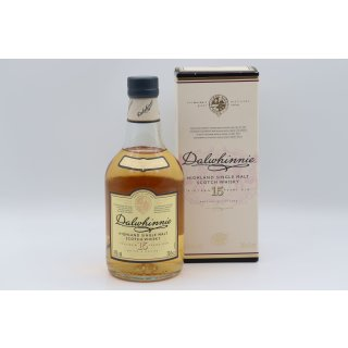 Dalwhinnie 15 Jahre Classic Malts Selection 0,2 ltr.