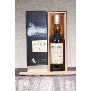 Talisker 25 Jahre bottled 2017 0,7 ltr.