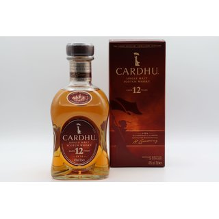 Cardhu 12 Jahre Single Malt Classic Malts Selection 0,7 ltr.