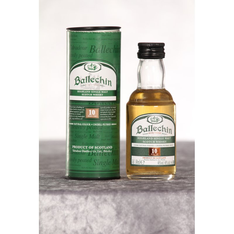 Ballechin 10 Jahre Heavily Peated 0,05 ltr.