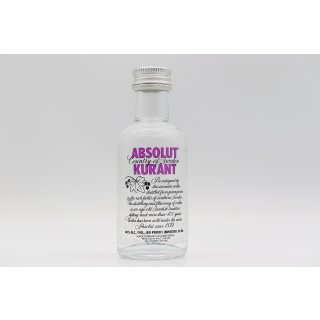 Absolut Vodka Kurant 0,05 ltr.