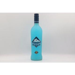 Gletscherwasser Likör Bodenseeflasche 0,7 ltr.