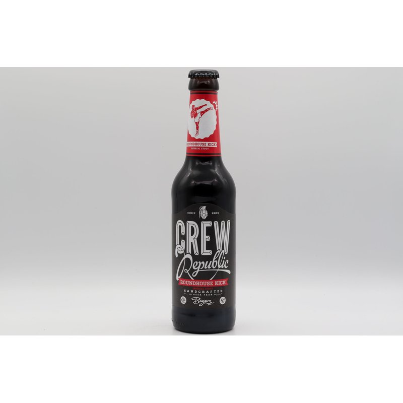 Crew Republic Roundhouse Kick Imperial Stout 0,33 ltr.