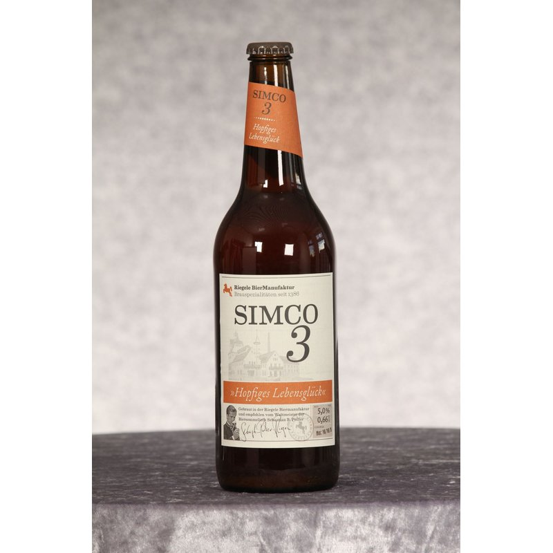 Riegele BierManufaktur Simco 3 0,66 ltr.
