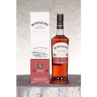 Bowmore 9 Jahre Limited Release Sherry Cask Matured 0,7 ltr.
