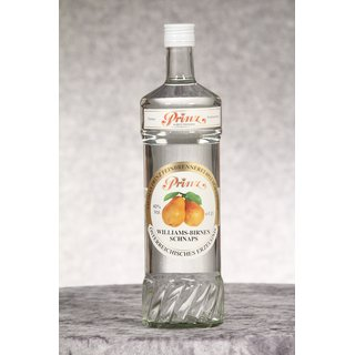 Prinz Williams-Birnen Schnaps 1,0 ltr. Williams-Birnen...