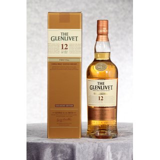 Glenlivet 12 Jahre First Fill Exclusive Edition 0,7 ltr.