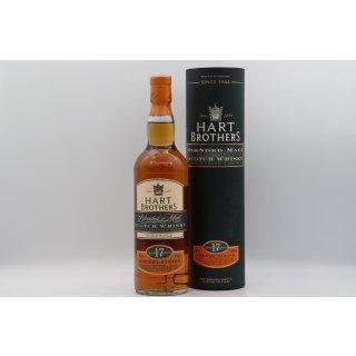 Hart Brothers 17 Jahre Blended Malt Scotch Whisky 0,7 ltr. Sherry Finish