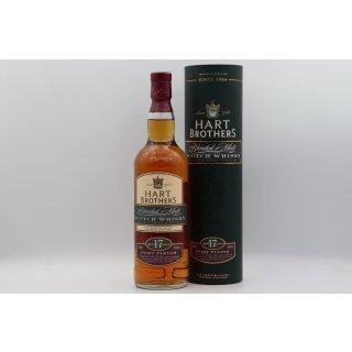 Hart Brothers 17 Jahre Blended Malt Scotch Whisky 0,7 ltr. Port Finish
